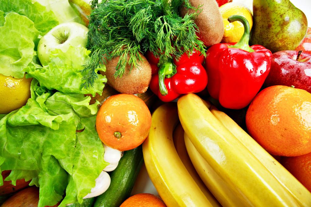 Овощи и фрукты для лечения бронхита