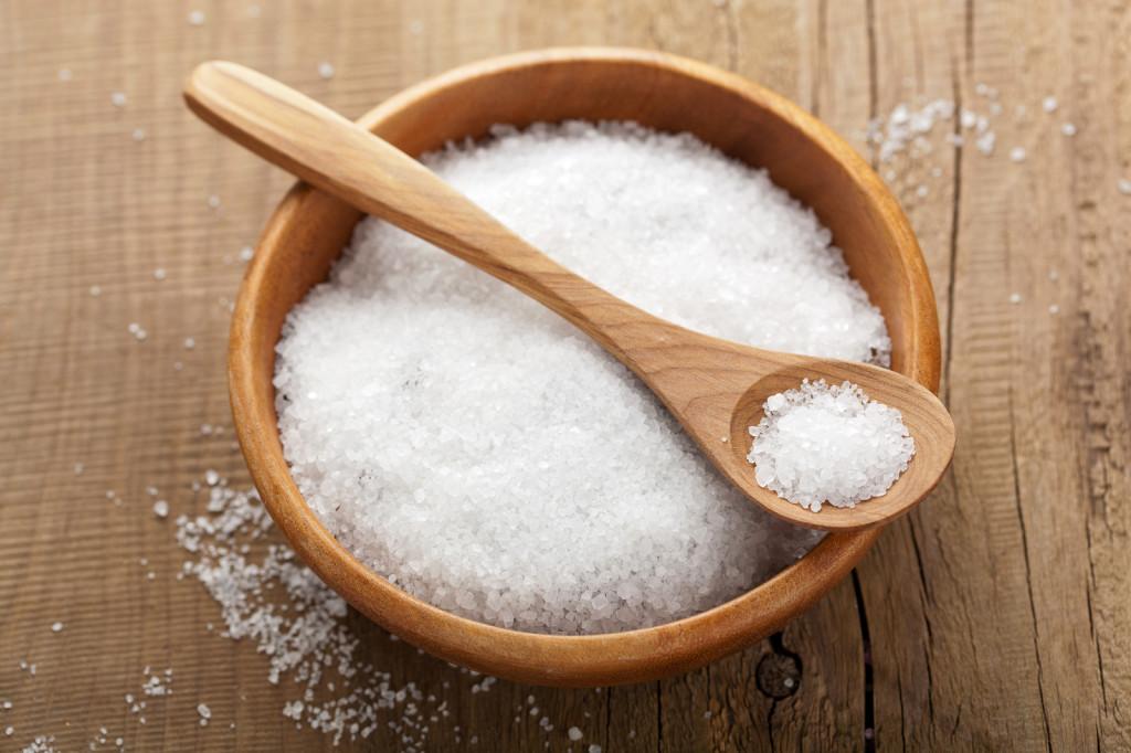 Морская соль для полоскания горла при тонзилите