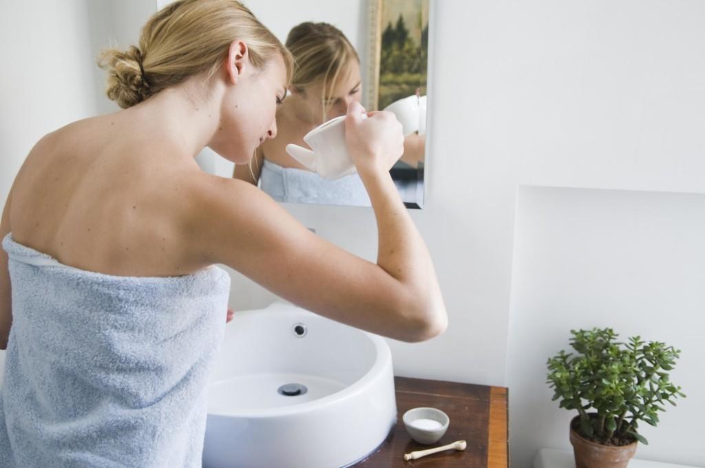 Промывание носа для лечения полипов в носу