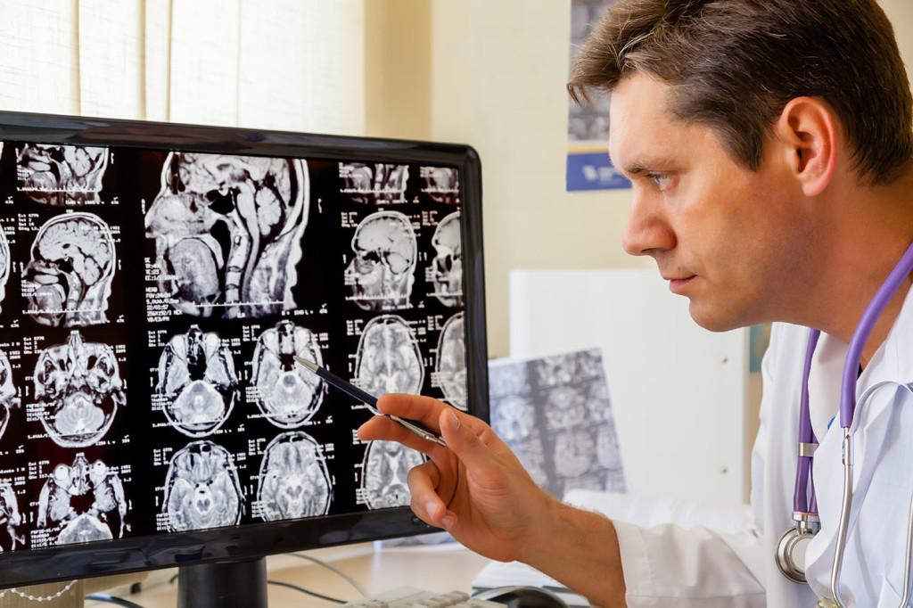 Результаты обследования внутричерепного давления у взрослых