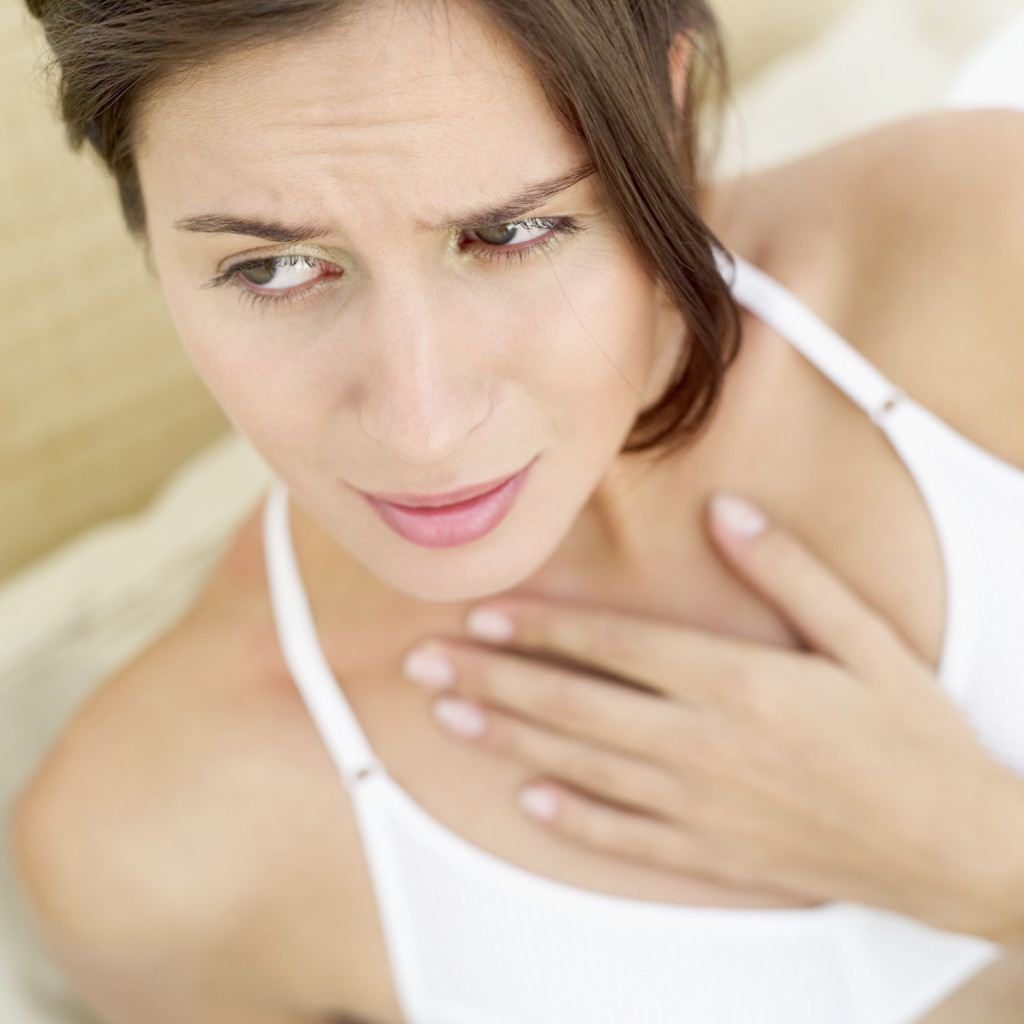 Первые симптомы рака пищевода
