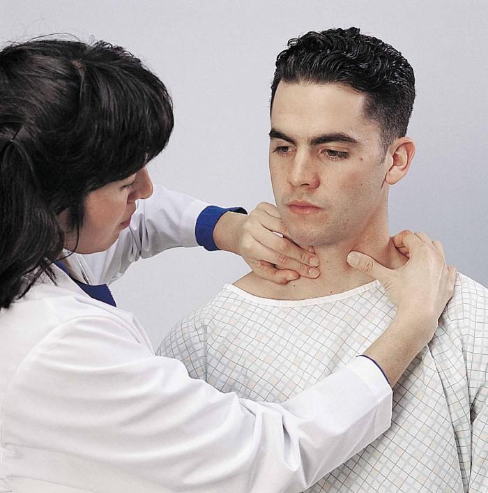 Основные симптомы увеличения щитовидной железы