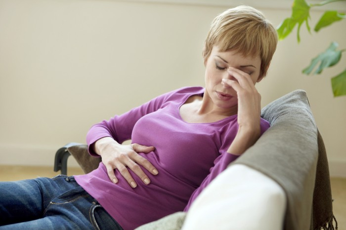 Основные симптомы прободной язвы желудка